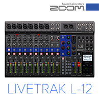 Zoom announces LiveTrak L-12