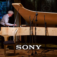 SONY Hi-Res Bach recording on world's first 108 key piano